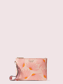 Kate Spade spencer falling flower small pouch wris