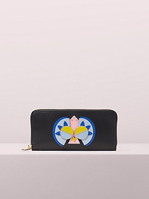 Kate Spade spademals preeny peacock slim continent