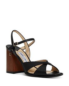 Jimmy Choo - Women's Joya Block Heel Sandals
