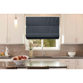 Roller Shade Cordless Roman Shade - Navy