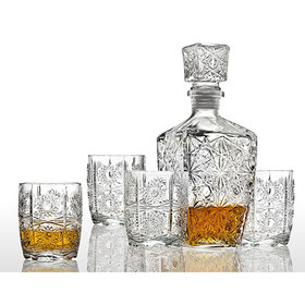 Studio Silversmiths 5pc. Whiskey Set