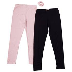 Girls (4-6x) Colette Lilly 2pk. Rib and Solid Legg