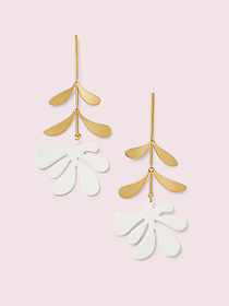 Kate Spade botanical garden linear earrings