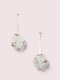 Kate Spade blooming bouquet drop earrings