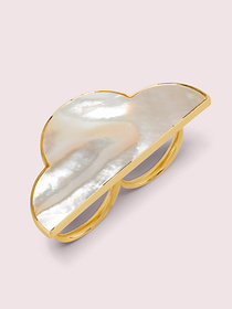Kate Spade into the sky cloud ring