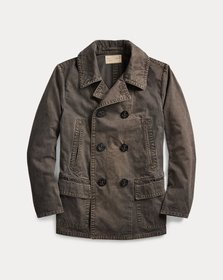 Ralph Lauren Washed Canvas Peacoat