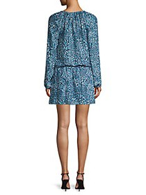 Ramy Brook Landa Print Blouson Dress