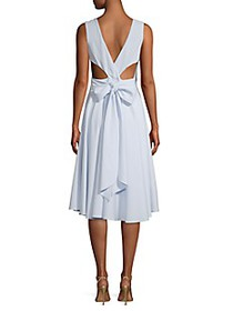 SJP by Sarah Jessica Parker Tie-Back Fit-And-Flare