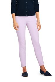 Lands End Women's Mid Rise Bi-Stretch Pull-on Ankl