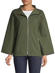 Lafayette 148 New York Ford Stand Collar Jacket