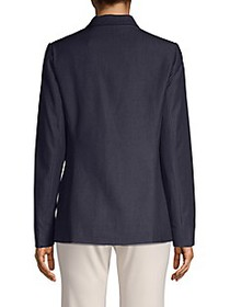 T Tahari Wendy One-Button Blazer
