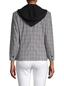 Kenneth Cole Layered Checker Blazer