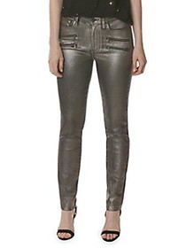 Paige Jeans Coated Skinny Jeans