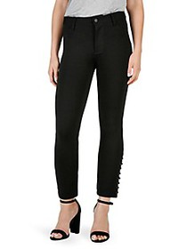 Paige Jeans Exclusive Luxe Ponte Straight Jeans