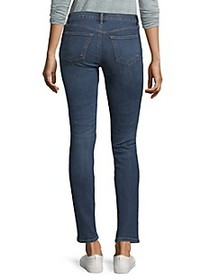 J Brand Maude Mid-Rise Skinny Jeans