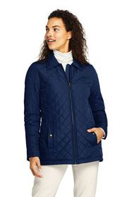 Lands End Women's Insulated Quilted Barn Jacket