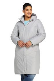 Lands End Women's Plus Size Insulated Raincoat