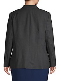 Lafayette 148 New York Plus Henning Stretch Wool J