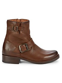 Frye Vicky Leather Booties