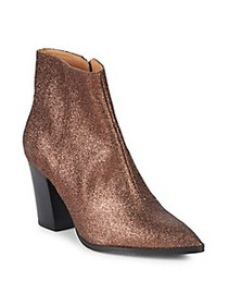 RENVY Merco Glittered Ankle Boots