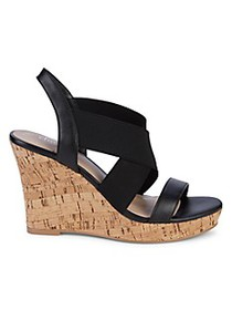 Charles by Charles David Lupita Slingback Wedge Sa