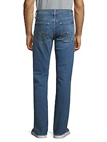7 For All Mankind Classic Straight-Fit Jeans