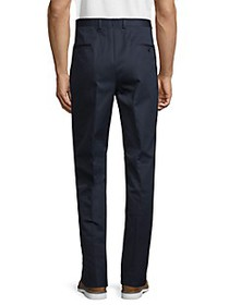 Boss Hugo Boss Standard-Fit Solid Cotton Trousers