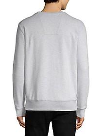 G-Star RAW Logo Graphic Cotton-Blend Sweatshirt