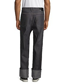 Diesel Black Gold Relaxed-Fit Cotton Jeans