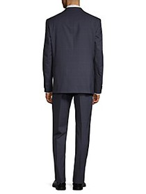 Vince Camuto Windowpane Wool Suit