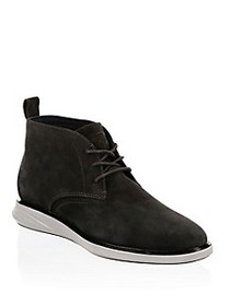 Cole Haan Grand Evolution Suede Chukka Boots