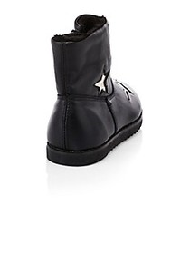 Old Soles Little Girl's & Girl's Faux Shearling Tw