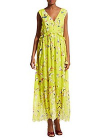 Suburban Riot Catalina Sleeveless Print Maxi Dress