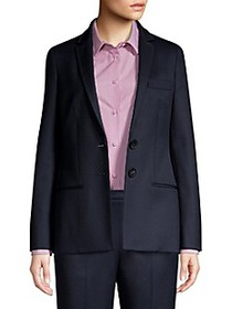 Piazza Sempione Two-Button Wool Jacket