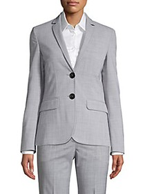 Piazza Sempione Wool-Blend Blazer Jacket