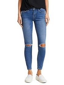 Current/Elliott The Stiletto Distressed Ankle Jean