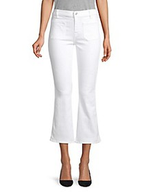 7 For All Mankind Slim Kick Cropped Jeans