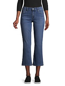 J Brand Selena Cropped Bootcut Jeans/Ascension