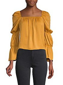 BCBGeneration Puff-Sleeve Top