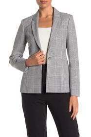 Ted Baker London Contrast Check Print Tailored Jac