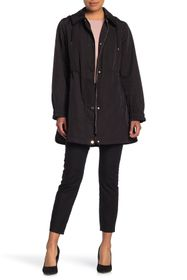 kate spade new york water-resistant hooded zip ano