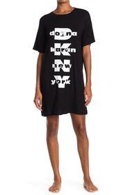DKNY Short Logo Sleep Shirt