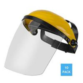 Ratchet Headgear Head and Face Shield Protection w