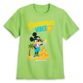 Disney Mickey Mouse ''Summer Vibes'' T-Shirt for K