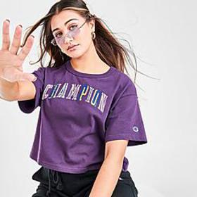 Women's Champion Double Vision Heritage Crop T-Shi