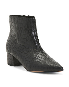 Leather Ultimate Comfort Booties