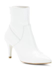 FREE PEOPLE Made In Spain Leather Ankle Boots