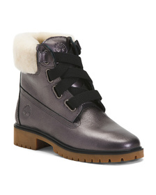 Reveal Designer Waterproof Leather Boots