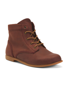 Lightweight Casual Leather Hiker Boots