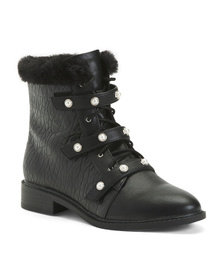 VINCE CAMUTO Cozy Lined Booties (Little Kid, Big K